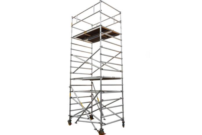 Na czym polega modułowy system wież z włókna szklanego?
